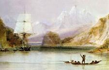 El-HMS-Beagle-por-Conrad-Martens-dibujante-de-la-tripulación