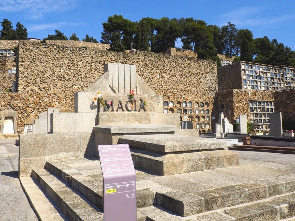 Cementerio de Montjuïc - Tumba Francesc Macià