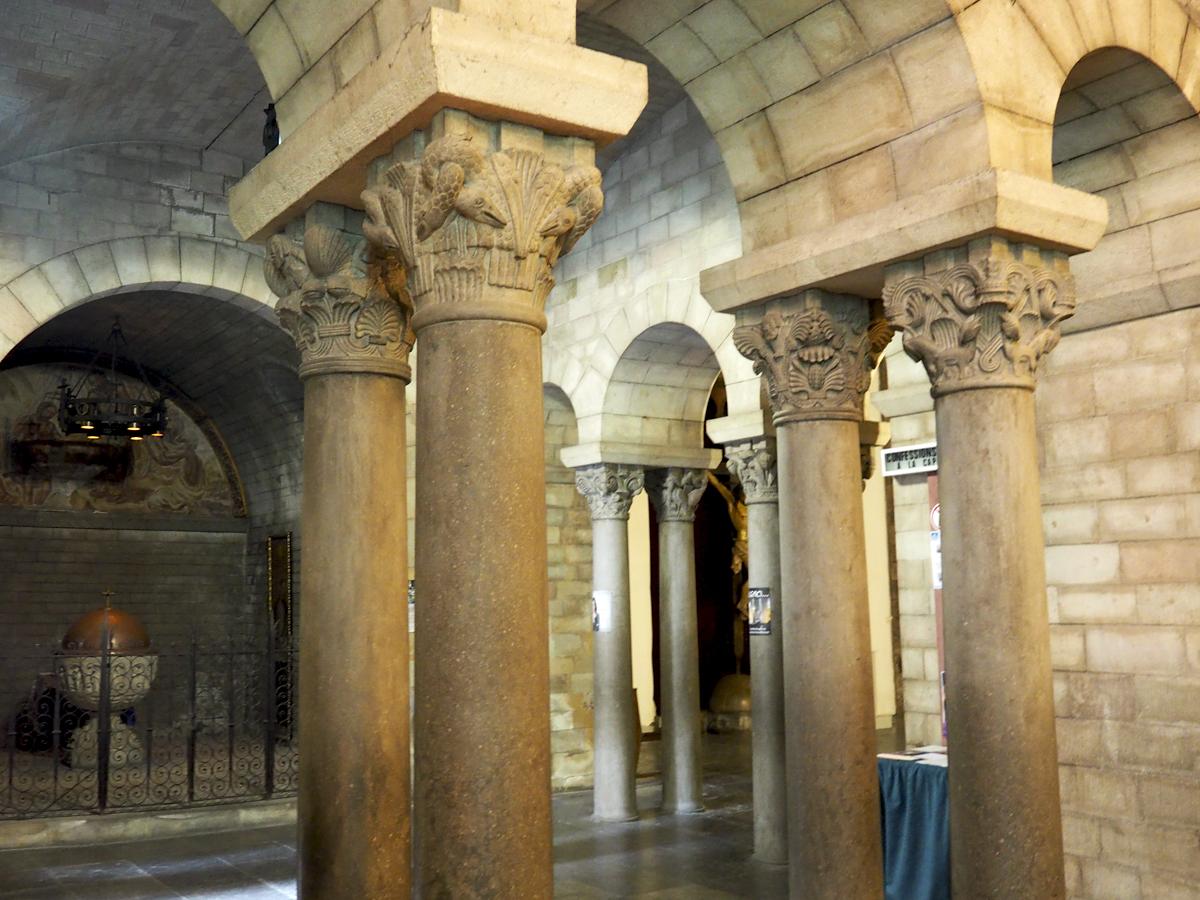 Arcos nave central Sant Pere de les Puel·les