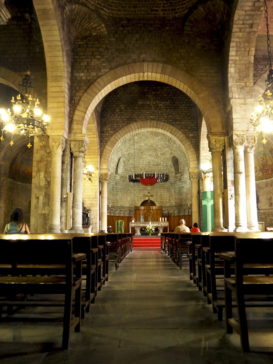 Nave central Sant Pere de les Puel·les