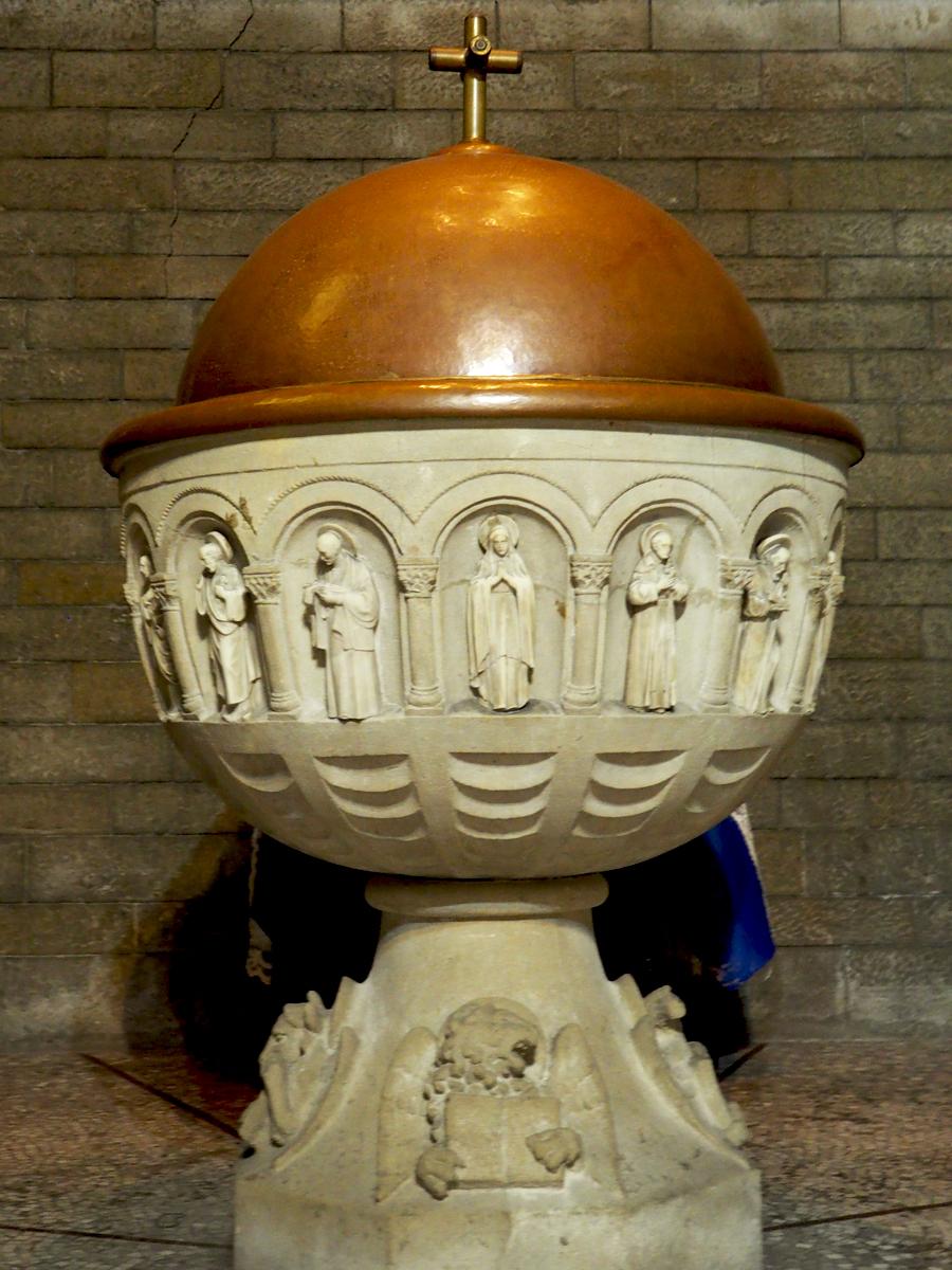 Pila bautismal Sant Pere de les Puel·les