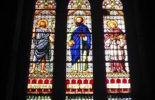 Vidriera 1 Sant Pere de les Puel·les