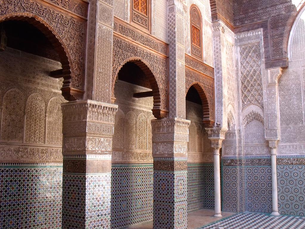 Medersa el Attarin (detalles-2) - Diario de viajes Fez