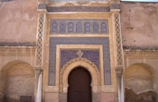 4/09/2013: Llegada a Meknés: cambio de referencias