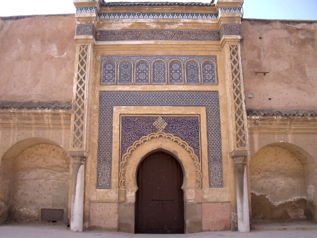 Puerta Ciudad Imperial de Meknès