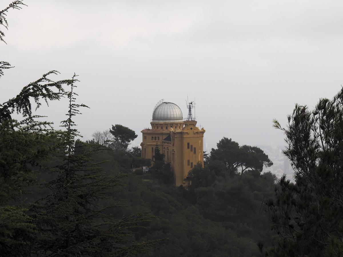 Vista panorámica - Observatori Fabra Barcelona
