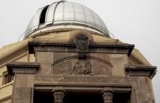 Fachada del Observatori Fabra, un edificio clásico de Josep Domènech i Estapà, arquitecto anti-modernista