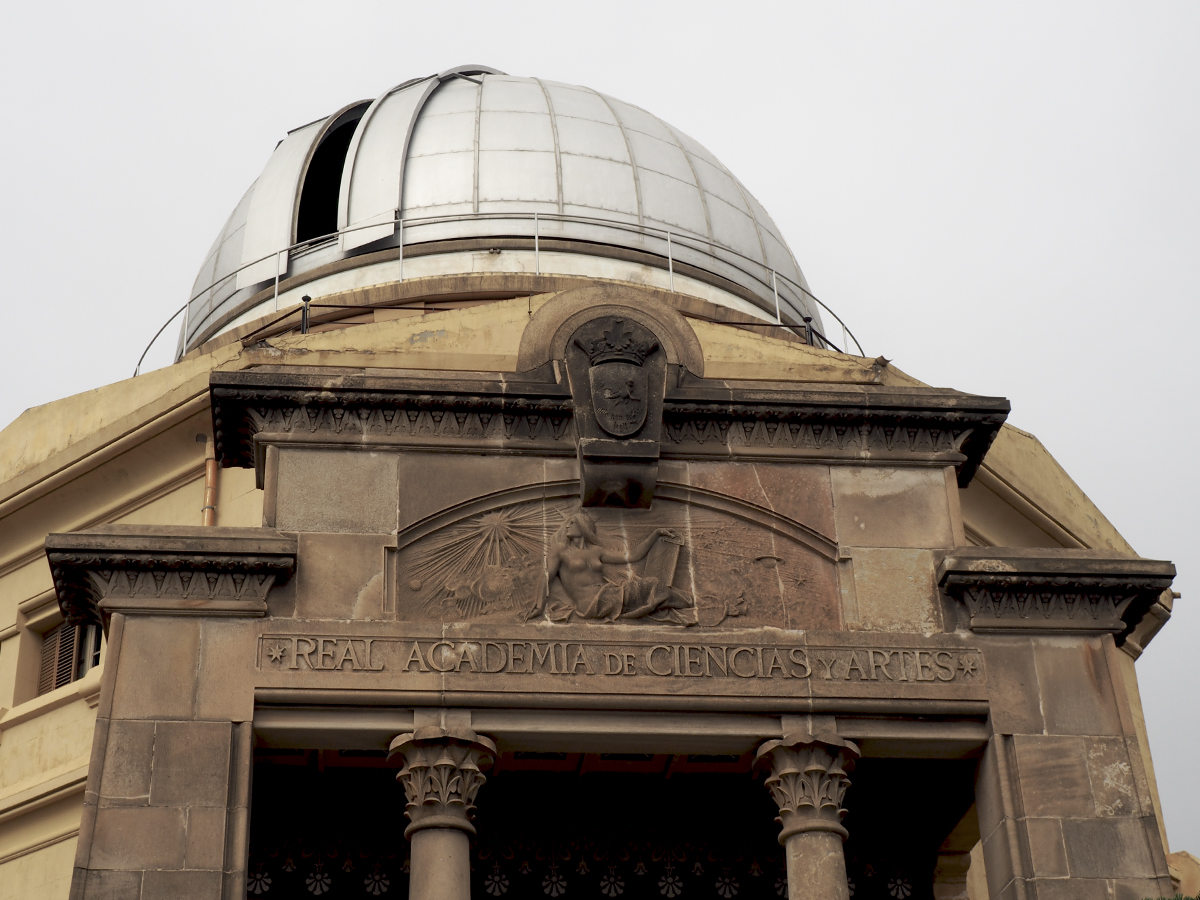 Fachada observatorio - Observatori Fabra Barcelona