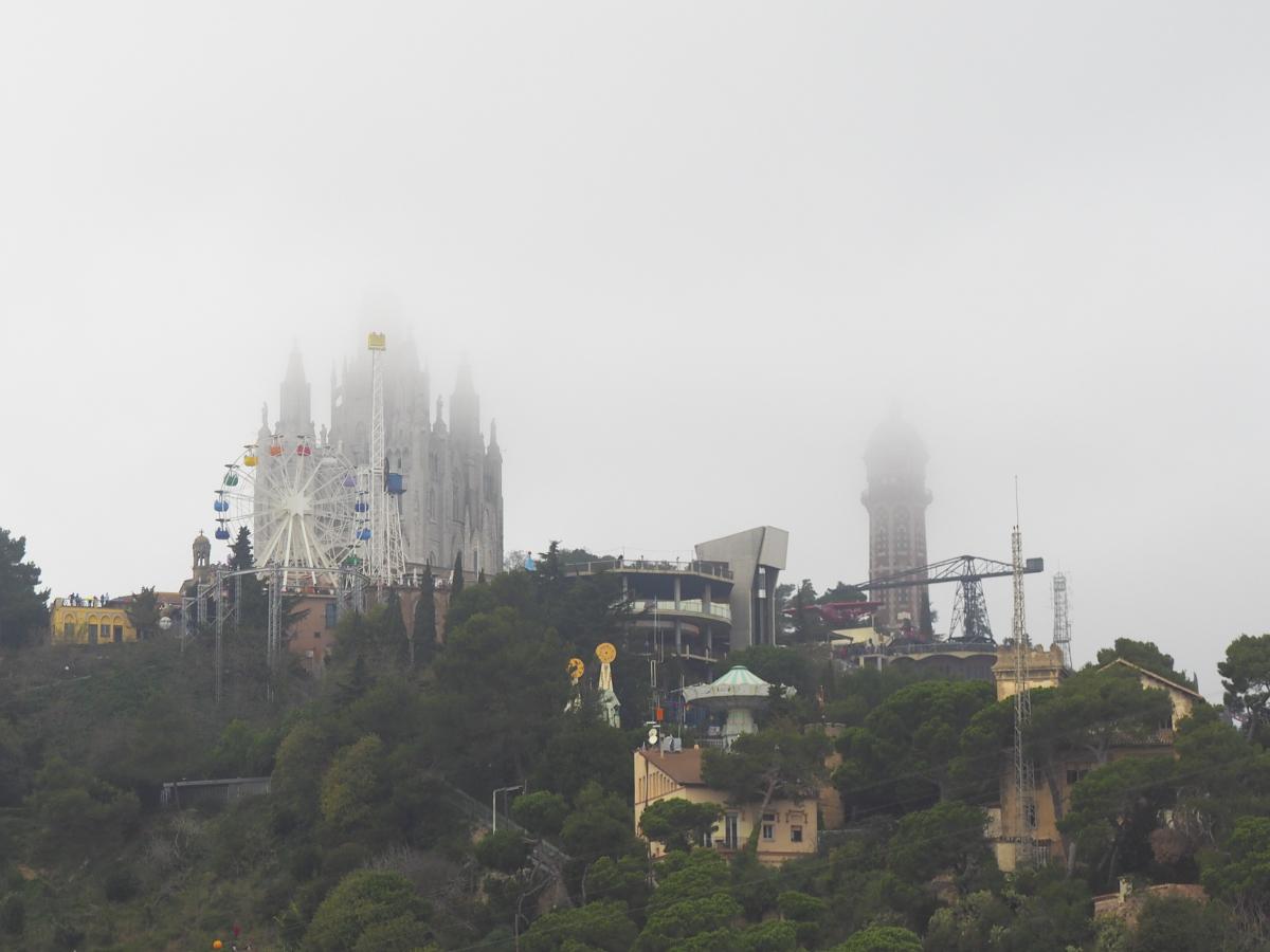Parc del Tibidabo - Observatori Fabra Barcelona