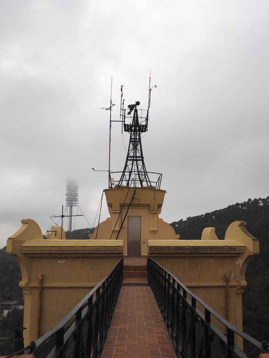 Aparejos meteorológicos - Observatori Fabra Barcelona
