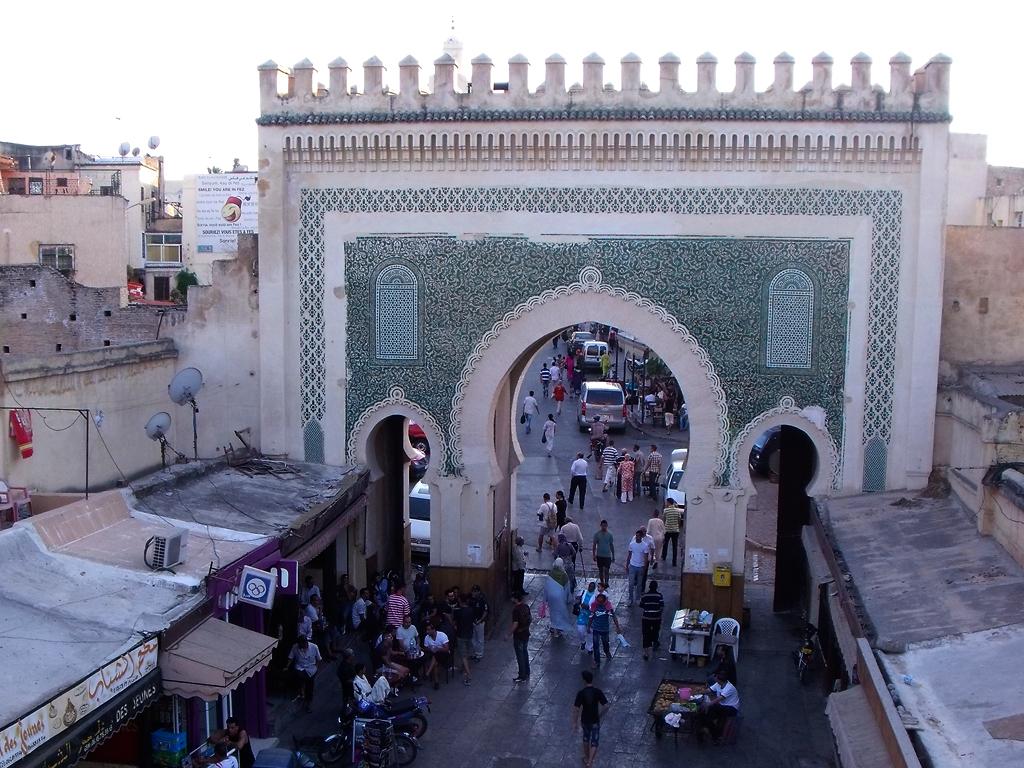Bab Bou Jeloud, nuestra puerta a Fez
