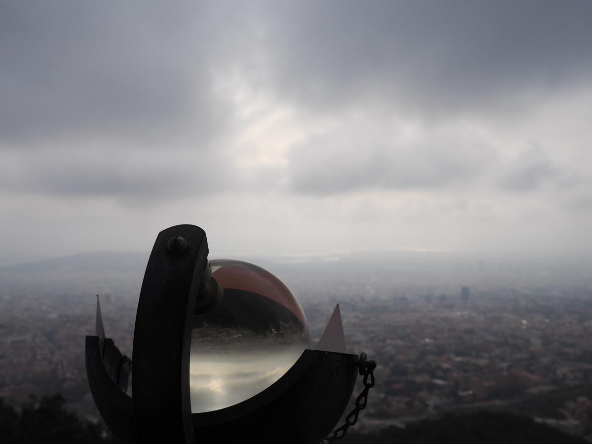 Vista de Barcelona - Observatori Fabra Barcelona