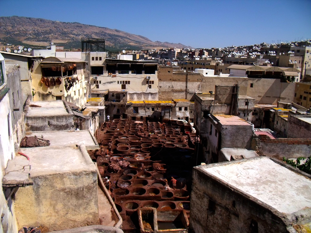 Tenedurías de Fez - Diario de viajes Fez Marruecos