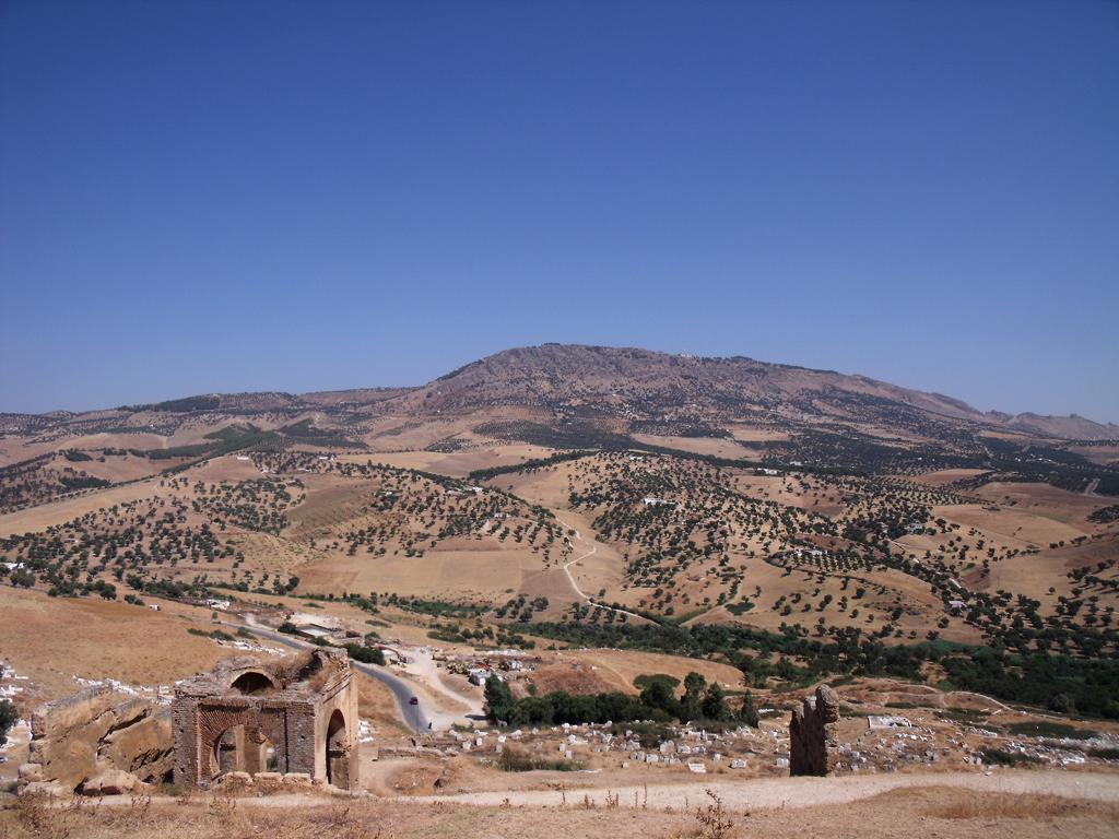 Tumbas meriníes de Fez (campos de Castilla)