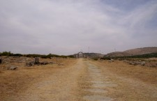 Vía central de Volúbilis