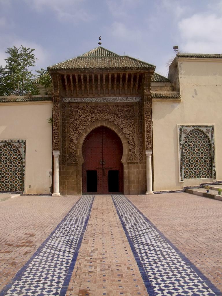 Puertas del Mausoleo Moulay Ismail de Meknès