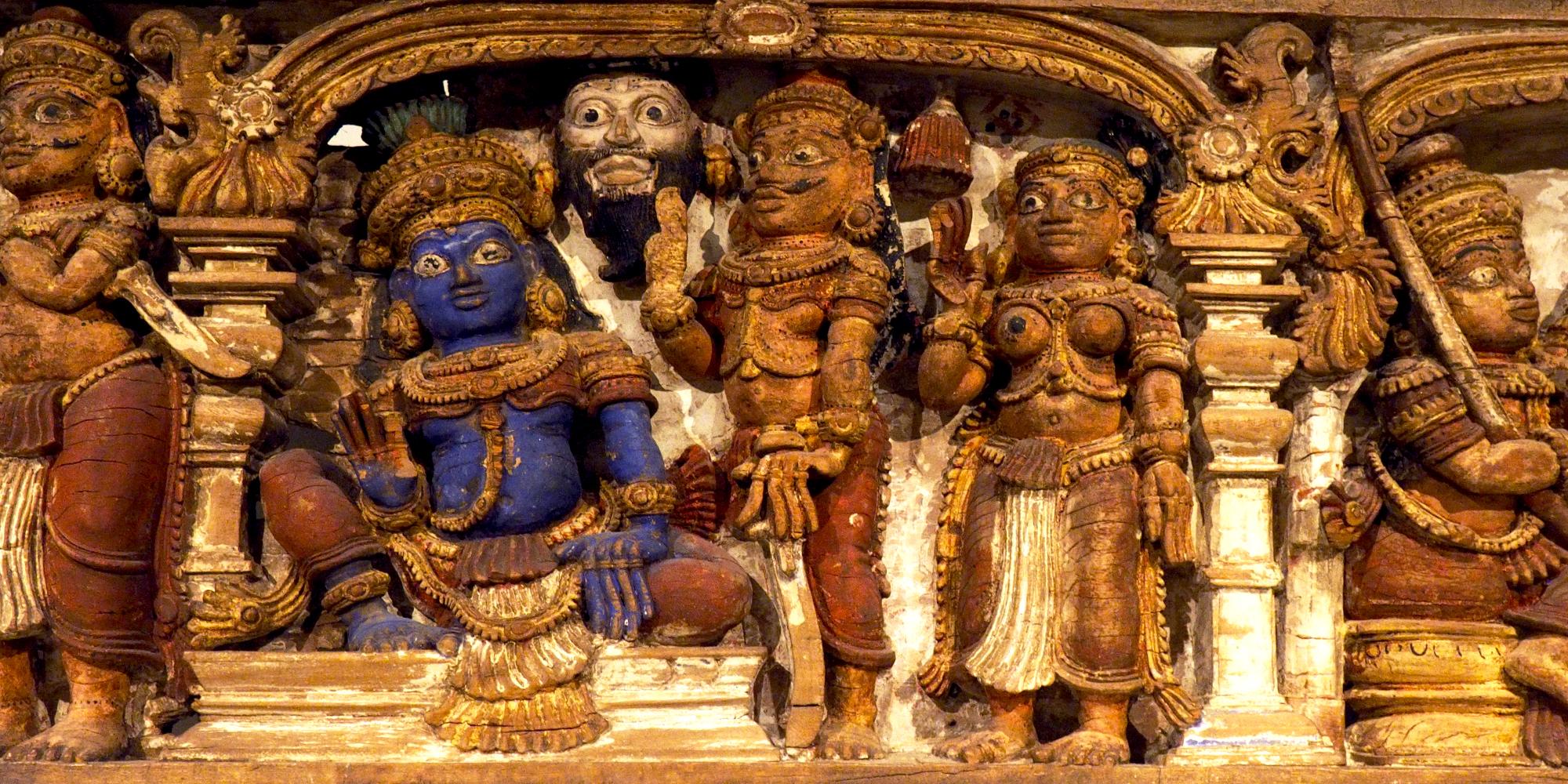 Dintel historiado de Kerala