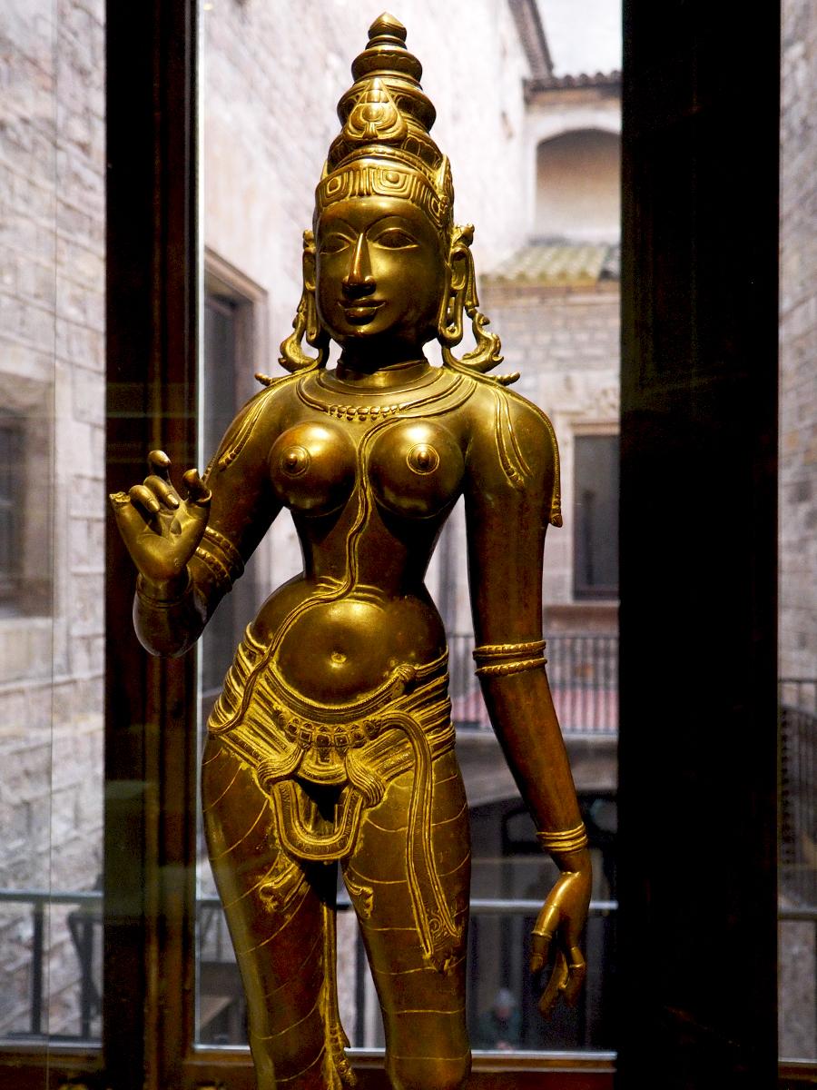 Figura de Parvati