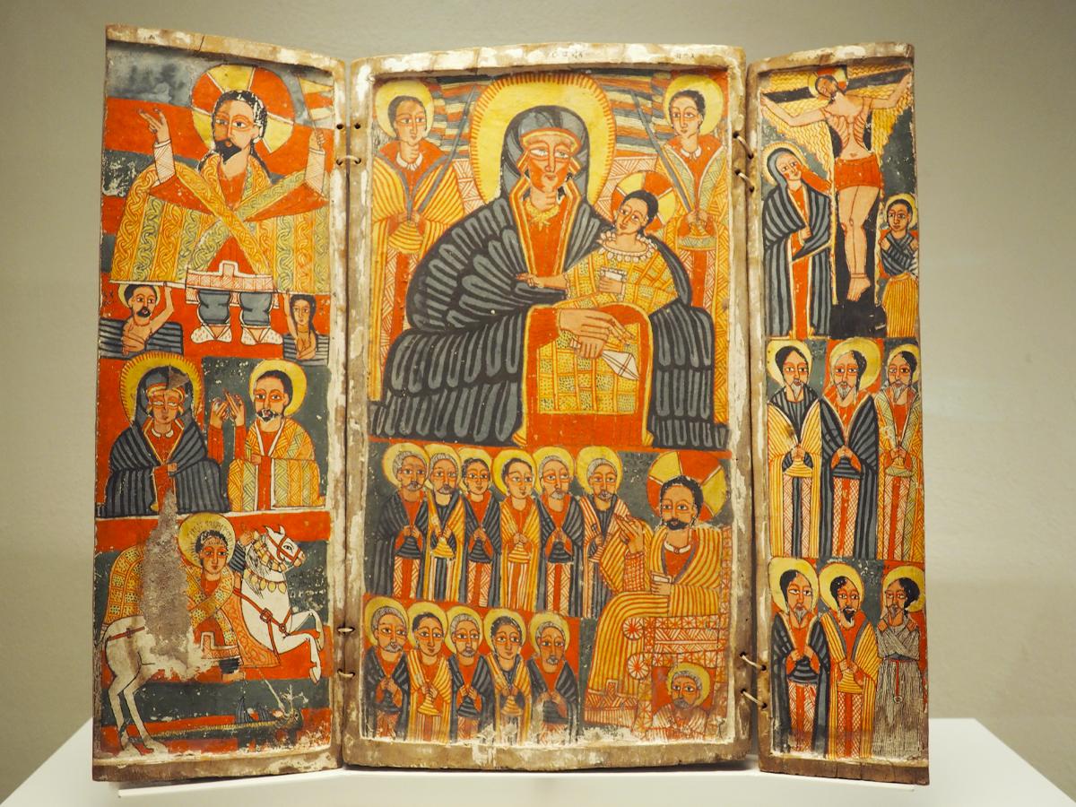 Tríptico cristiano etíope