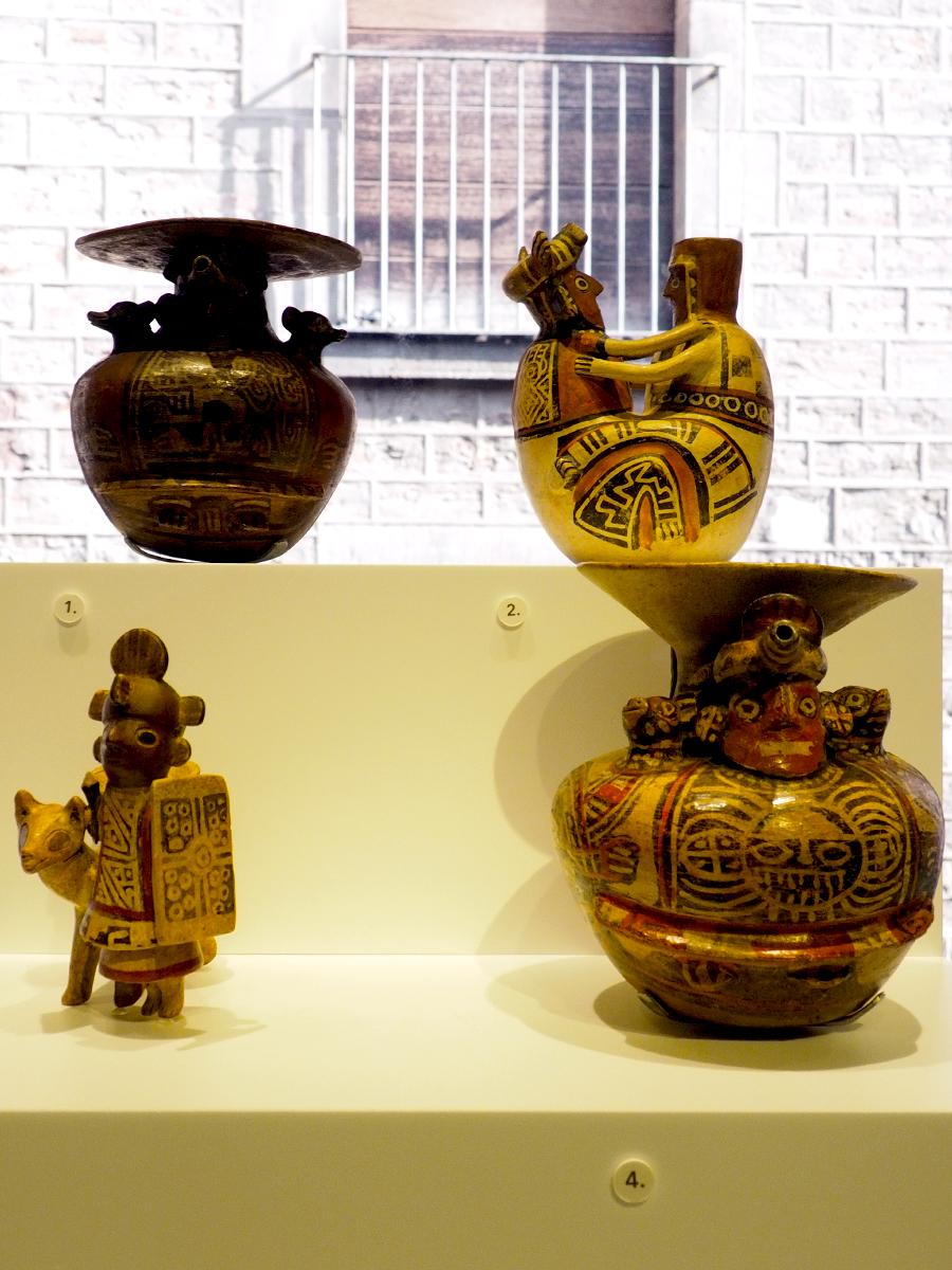 Pacchas y otros vasos de la cultura Recuay, Perú (s. I-VIII)