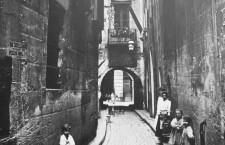 El barri perdut - Carrer de l'Arc de la Glòria (1908, AFB)