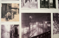 Composición de fotografías del barri de la Catedral i de la plaça Nova