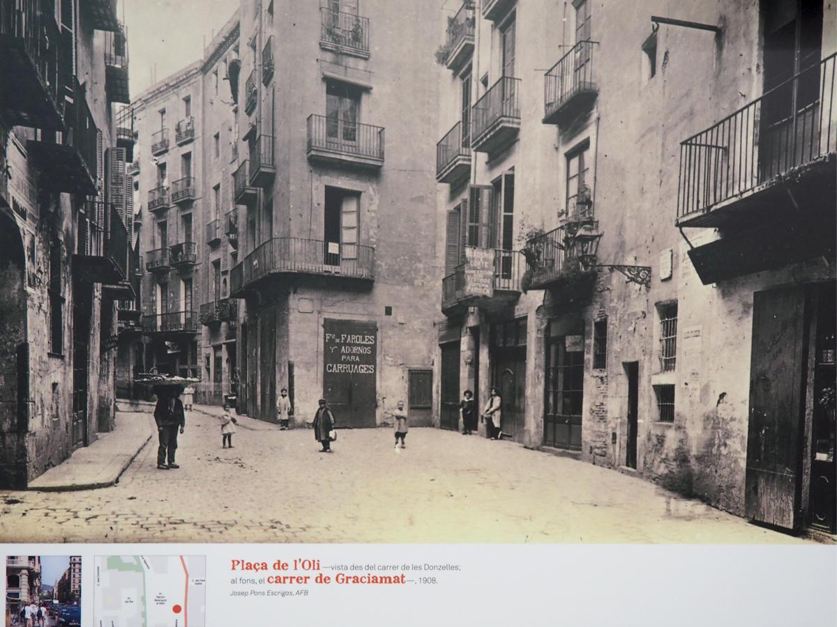 El barri perdut - Plaça de l'Oli (Josep Pons Escrigas)
