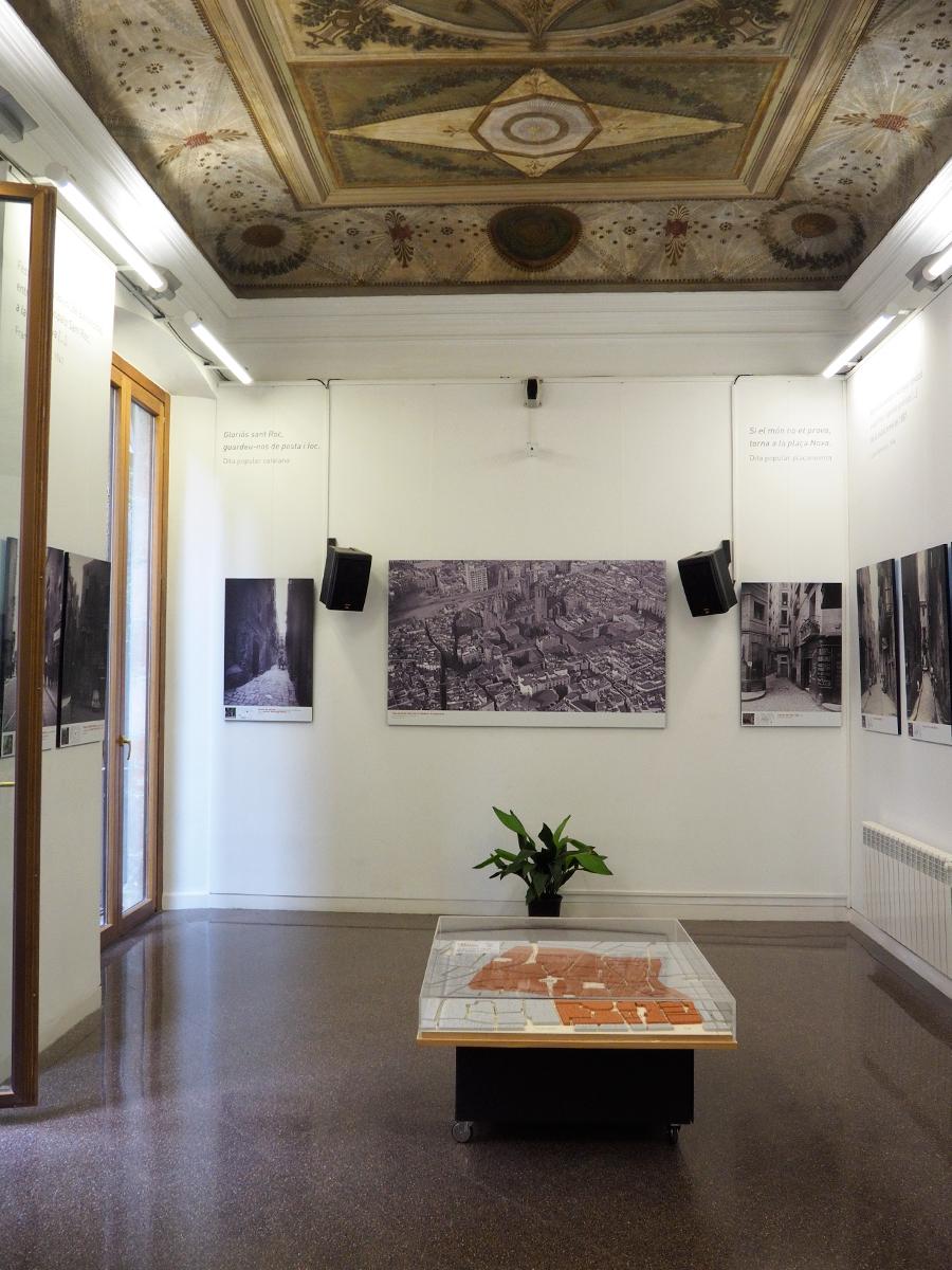 El barri perdut - Sala de exposición