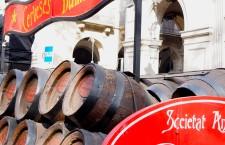 Carro representante de Cerveses Damm - Els Tres Tombs de Sant Antoni